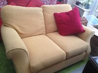Selling 2 person sofa, used but a good quality sofa, just a bit marked