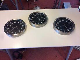 Small Wall Clocks - 2 left