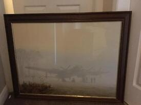 Framed Gerald coulson picture