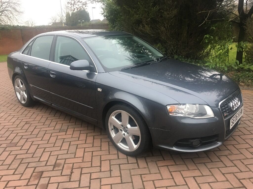2006 audi a4 1 9 tdi s line b7 saloon f s h long mot. Black Bedroom Furniture Sets. Home Design Ideas