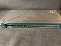 Cisco Catalyst WS-C2950-24 24 10/100 Port Managed Ethernet 2950 Switch, Sealed