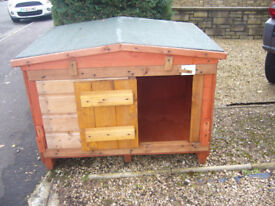 """dog kennel robust 24x24""""from £35.00 7days 07889465089 up from hampden park all sizes worth viewing"""