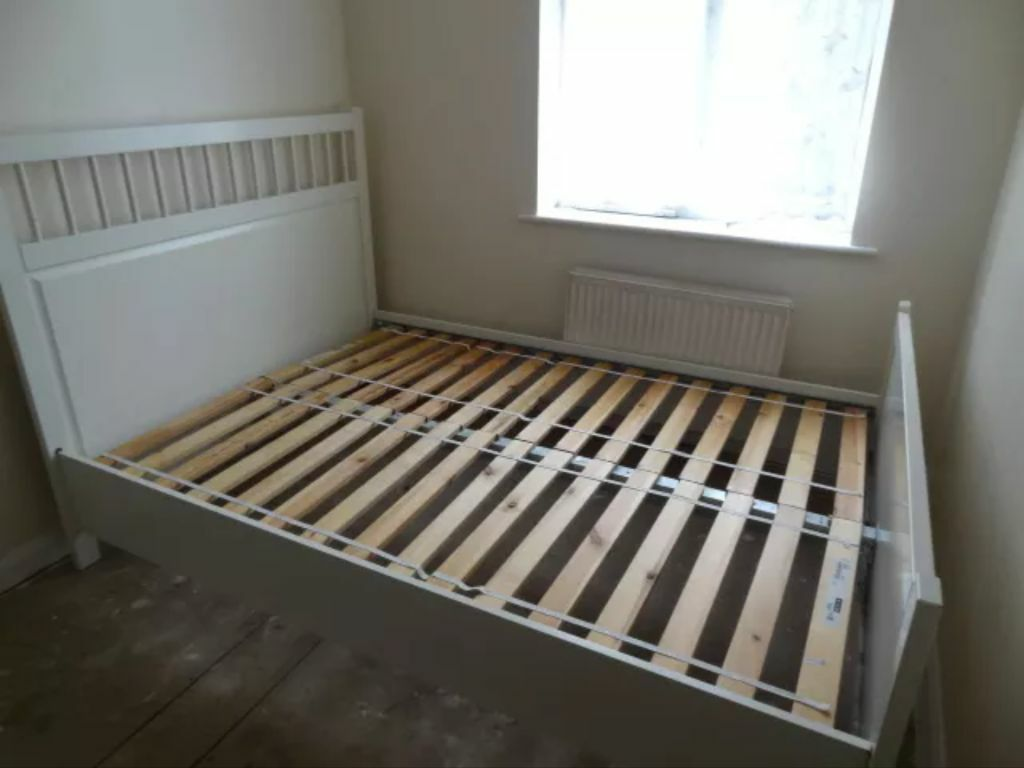 IKEA Hemnes Double bed frame white | in Dunblane, Stirling | Gumtree