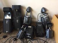 Job lot of dj lights