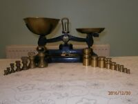Librasco traditional balance kitchen scales