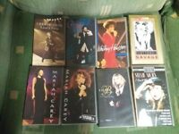 23 VHS music tapes plus VHS player