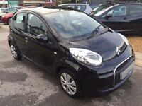 2010/60 CITROEN C1 1.0 VTR+ 5 DOOR,BLACK,GREAT LOOKS,2 OWNERS FROM NEW,£20 CAR TAX,EXCELLENT ECONOMY