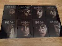 Harry Potter steelbook future shop 1-8 pristine condition