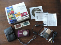 Olympus VH-210 Digital Camera with Case