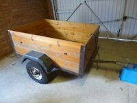 Camping trailer good condition 4ft x 3ft x 1.5ft