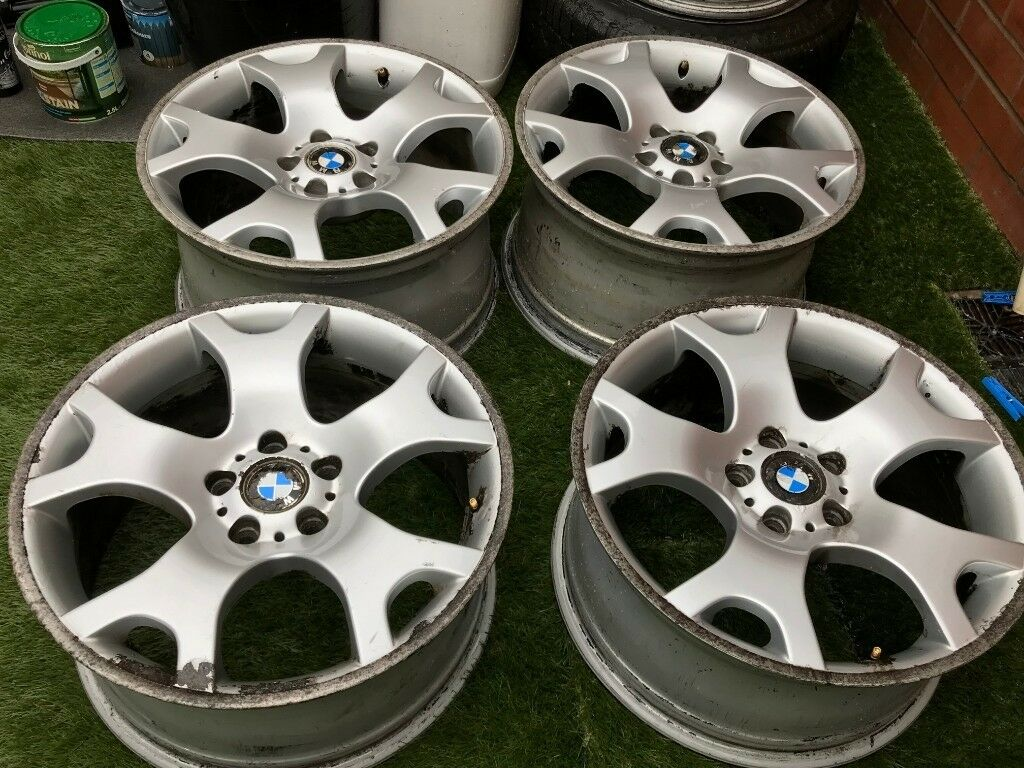 BMW TIGER CLAWS STYLE 63 ALLOY WHEELS STAGGERED 9J & 10J Free Deliver M1/M6  | in Chadderton, Manchester | Gumtree