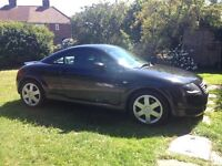 Audi TT 1.8 Quattro raven black 2002 well looked after Bam engine full leather