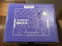 Electro Harmonix Voice Box Harmony and Vocoder Machine Guitar and Vocal Effects Pedal MINT CONDITION