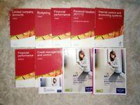 AAT books Level 3 & 4