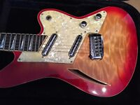 Charvel Surfcaster - all original and rare boutique guitar in mint condition with hard case