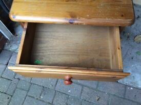 2 Ducal bedside chest of drawers- perfect for sanding