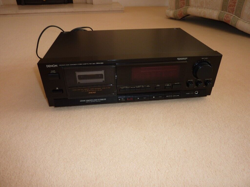 Denon DRM 800 stereo cassette tape deck | in Kings Worthy, Hampshire |  Gumtree