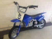 Razor MX350 kids electric motorbike.