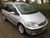 2006 FORD GALAXY 1.9 TDDI TDCI ZETEC 130 SEVEN SEATER SILVER ONE PREVIOUS OWNER