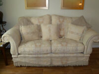 stunning high quality feather filled drop arm sofa 2/3 seater