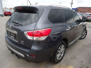 2014 Nissan Pathfinder SL / NAV / LEATHER / AWD Cambridge Kitchener Area image 5