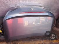 Peugeot 307CC 2003-2009 Tailgate Bootlid Gray Silver refe. LL4