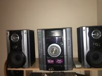 Sony Hi Fi System MHC-AG121/ comes with remote control