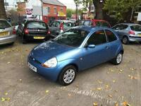 Ford Ka 1.3 Collection 53-reg low milage only 58,000 miles 12 months MOT