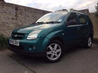 The Green Dragon is for SALE! 1,5 petrol Suzuki Ignis for sale £600.