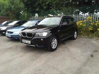 BMW X3 2.0 xDrive20d Auto Sat Nav, Dab Radio, Bluetooth, PDC, Xenon HL....list goes on. Top range!!