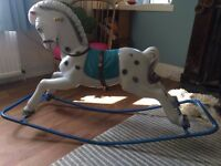 1950s Rocking Horse vintage retro collectible