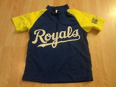 Kansas Bike Jersey - Youth Kansas City Royals S Biking Jersey Athletic Promo Jersey
