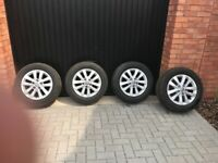 Alloy Wheels And Tyres for VW T6 Transporter