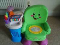 Activity chair Fisher Price