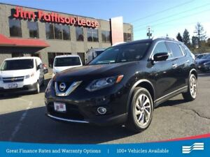 2015 Nissan Rogue SL AWD, w/NAV, Leather, Roof