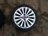 """16"""" ford alloy wheels with tyres"""