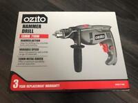 Ozito Hammer Drill 710W BRAND NEW