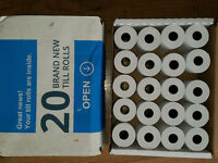 Brand New Till rolls 39 rolls worth £70