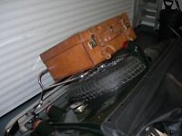 Leather Suitcase for a Classic Car. Ideal Morgan, MG etc. Perfect for the Luggage Rack!