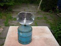 parabolic gas heater