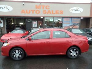 2010 Toyota Corolla CE VERY CLEAN, LOW MILEAGE