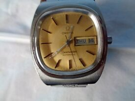 Omega Seamaster Automatic Watch.