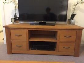 Next Cambridge Oak TV Unit