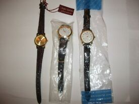 3 LADIES BRAND NEW QUARTZ WATCHES ONLY £10,