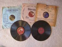 10 x 78 rpm records 1920's, 1930's, (Batch 4) dance, foxtrot etc, song, music etc, see titles below