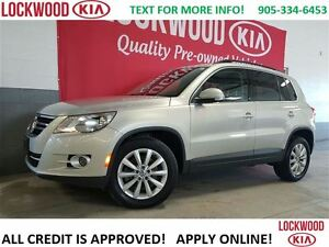 2011 Volkswagen Tiguan Highline - LEATHER, PANORAMIC ROOF