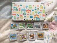 New Nintendo 3DS XL (happy home designer edition) with 10 Games & Extras