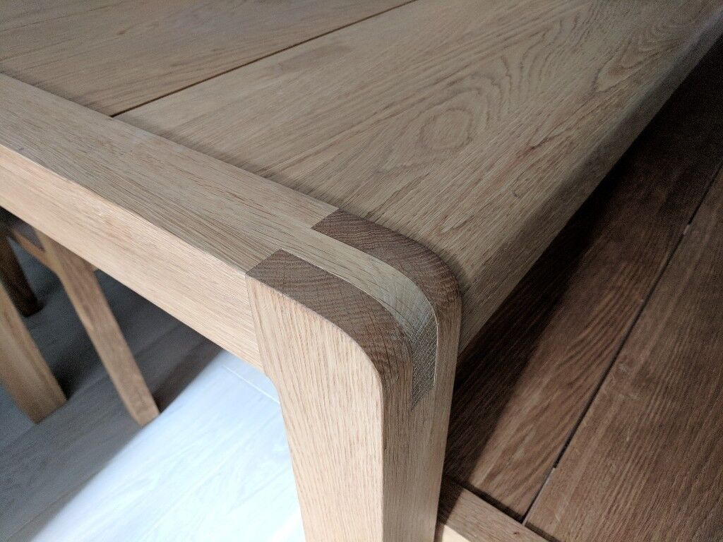 Habitat radius solid oak table chairs and bench in islington habitat radius solid oak table chairs and bench image 1 of 4 geotapseo Gallery