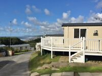Stunning Static Caravan on Sea View Pitch with Decking, in West Wales! 12 Month Season. Brynowen.
