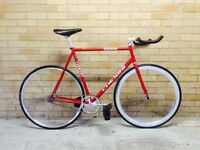 Chesini fixed gear track bike 58cm - Campagnolo, Cinelli, Gipiemme components